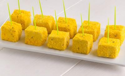 Cubetti di tofu al forno