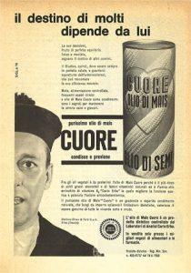 Pubblicità Olio Cuore 1960 - 1