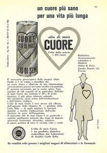 Pubblicità Olio Cuore 1960 - 2