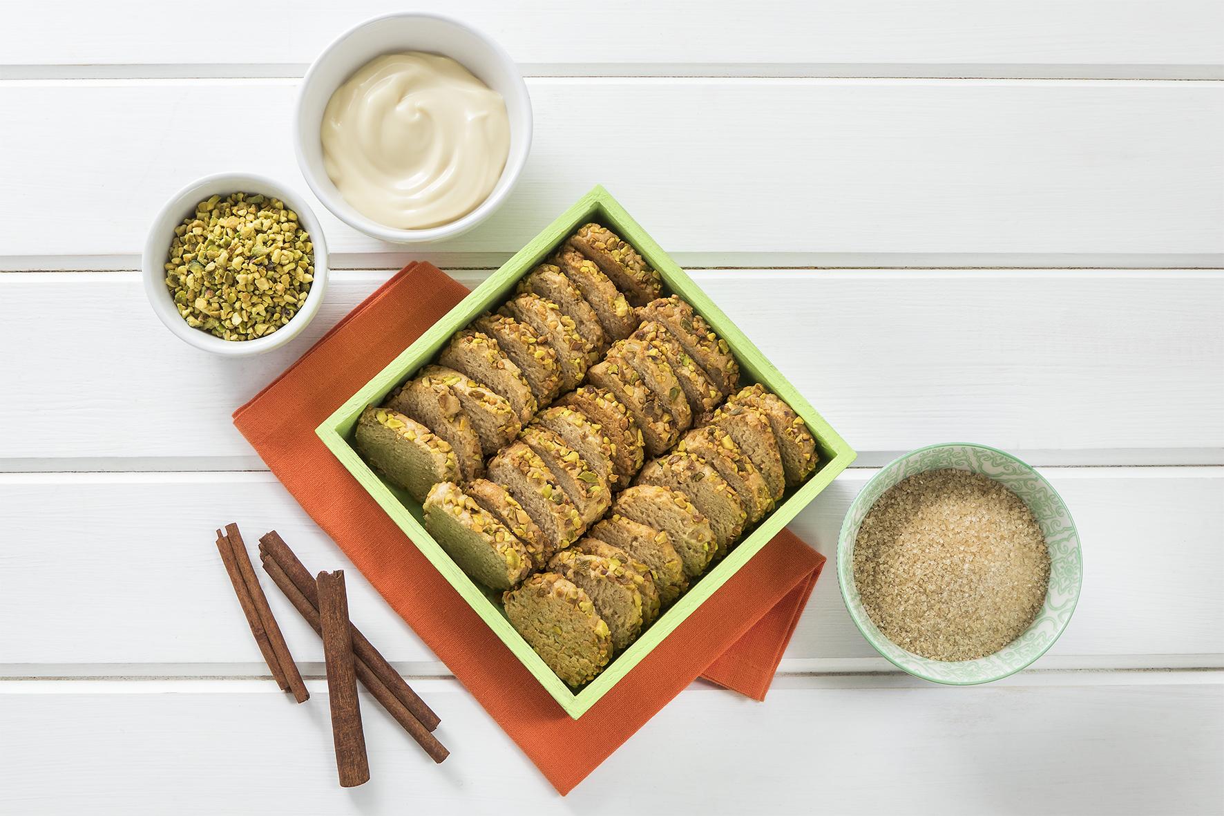 Biscotti rustici integrali alla maionese e cannella